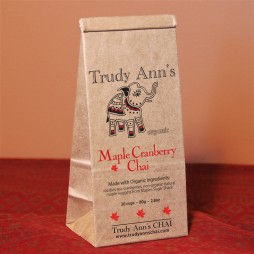 Maple Cranberry Chai