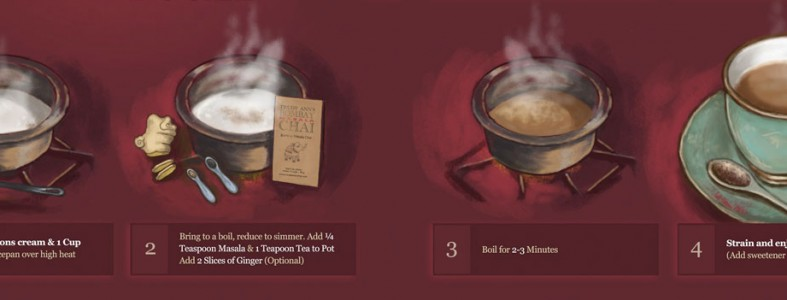 Traditional Masala Chai Directions