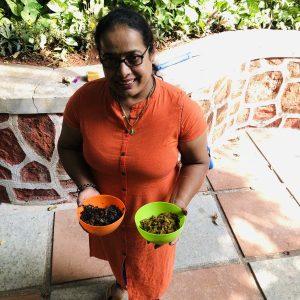 Tambdi Bhaji (Red Vegetable)