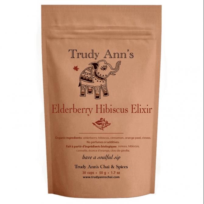 Elderberry Hibiscus Elixir