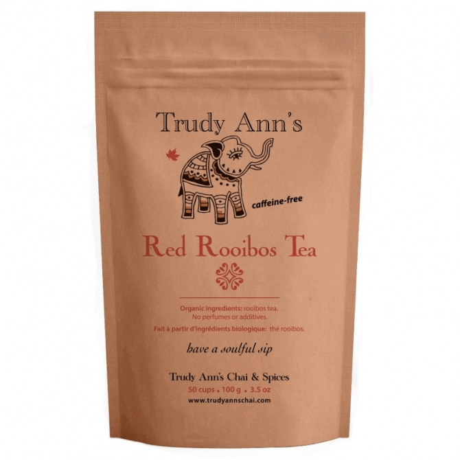 Red Rooibos Tea front